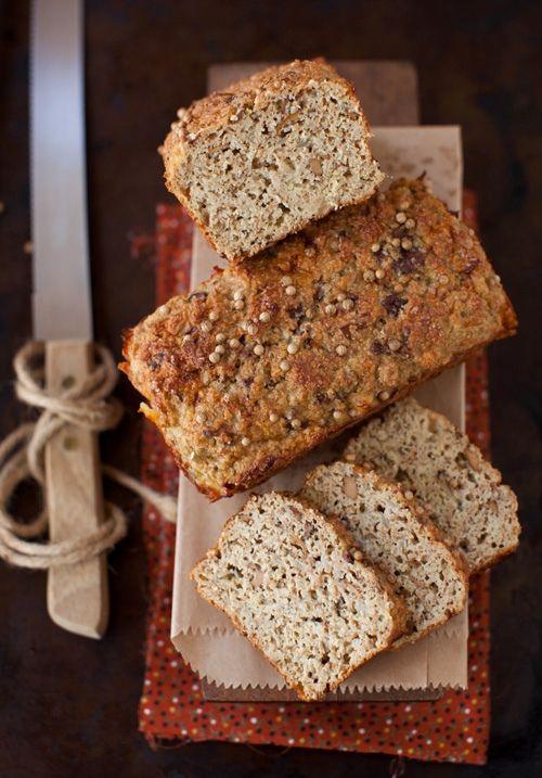 Mushroom Oat Bread by Melangery | CUISINE savory | Pinterest