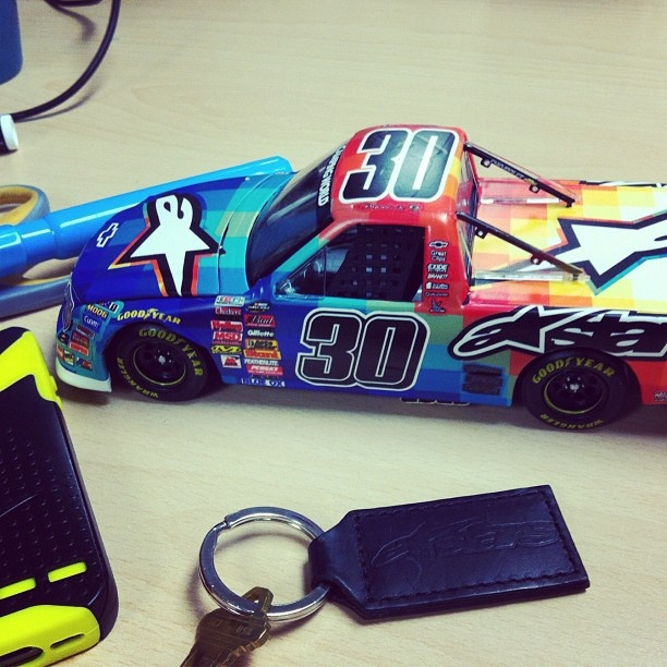 DSC x Nelson Piquet Alpinestars 1:24 scale Die cast trucks are very real and are coming soon