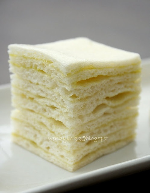 Steam Cake Recipes Pictures : Layered Kaya Steamed Cake Steamed Cakes Pinterest