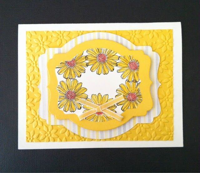 Stampin Up greeting card idea | Cards and Boxes Templates | Pinterest