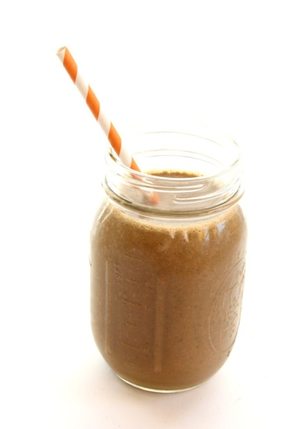 Happy Foods: Chocolate Peanut Butter & Banana Smoothie Recipe. All of ...