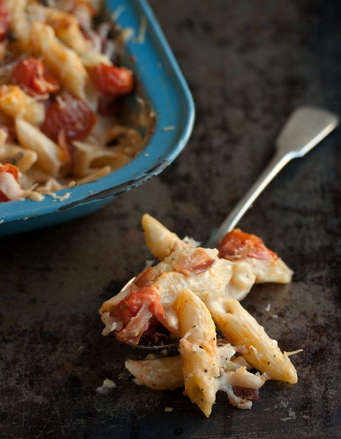 tomato macaroni and cheese with bacon and tomatoes sass veracity mac ...