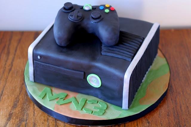 Xbox 360 Birthday Cake  Cakes  Pinterest