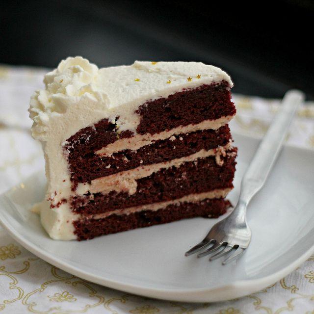 Red Velvet and Cinnamon Layer Cake | Recipe