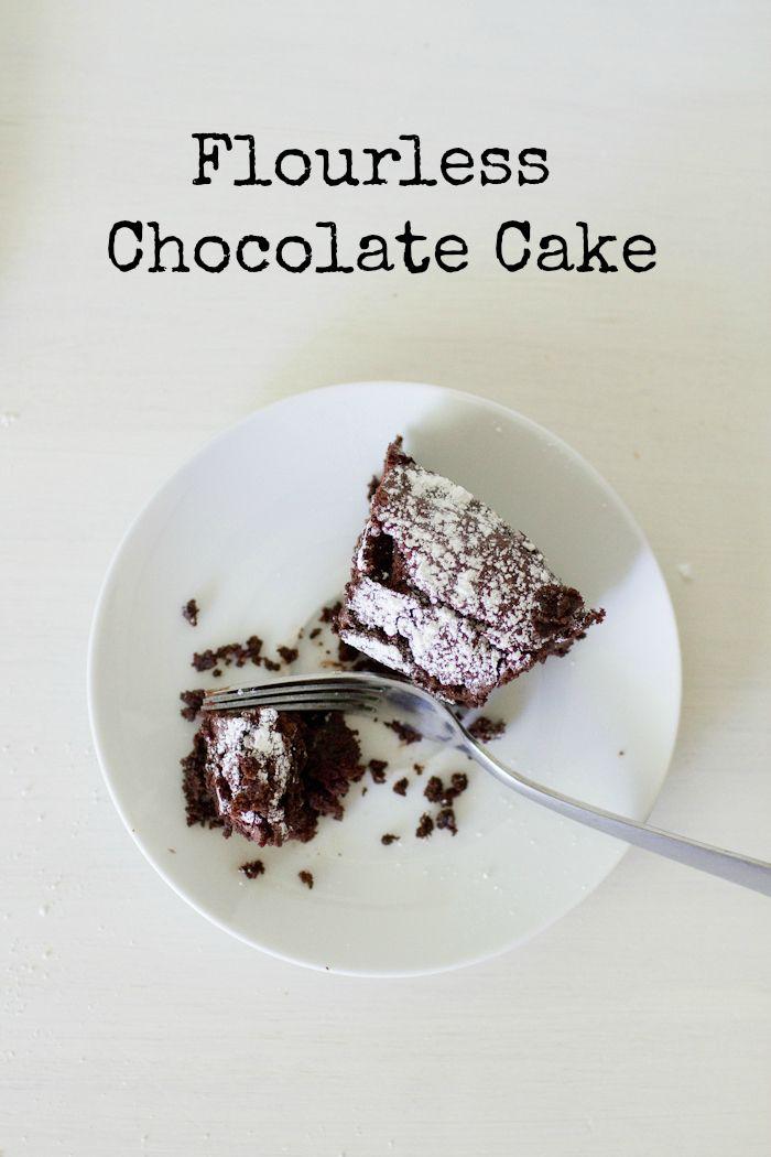 Flourless Chocolate & Vanilla Marble Cake Recipe — Dishmaps