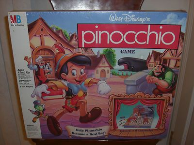 pinocchio game board game ebay