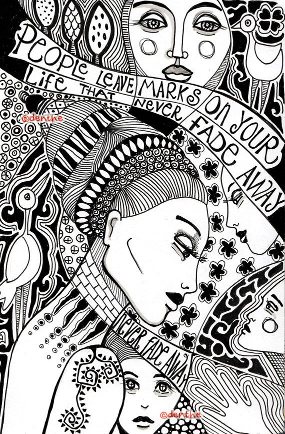 Pin By Anati Landau On Coloring Pages For Adults Pinterest Quotes