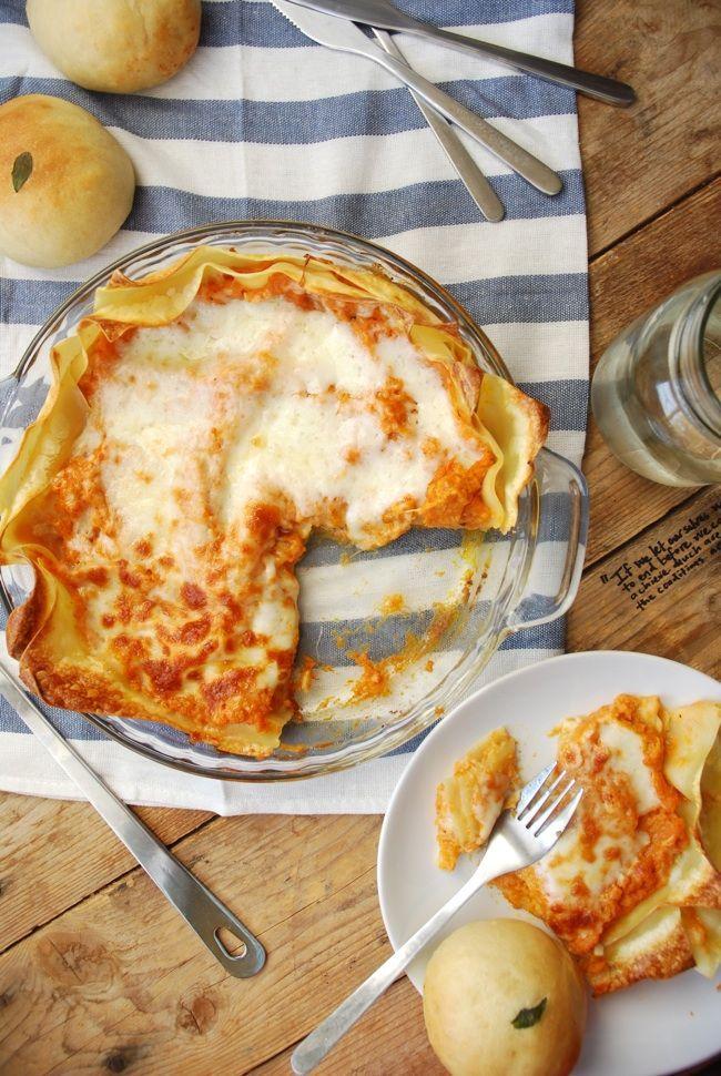 Pumpkin Lasagna. | Food Porn | Pinterest