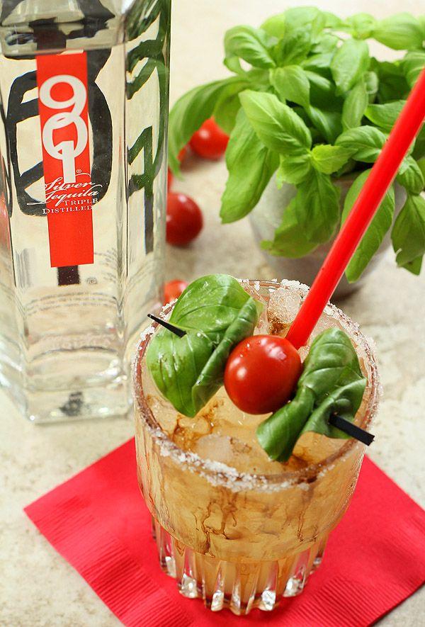 Caprese Margarita from the Crimson Canary | Recipe