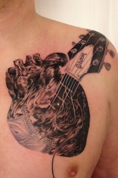 Real Metal Heart TattoosReal Metal Heart Tattoos