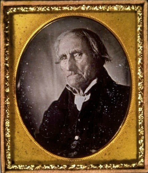 Conrad Heyer (b. 1749), photographed ca. 1852 - served with George Washington in the Revolutionary War