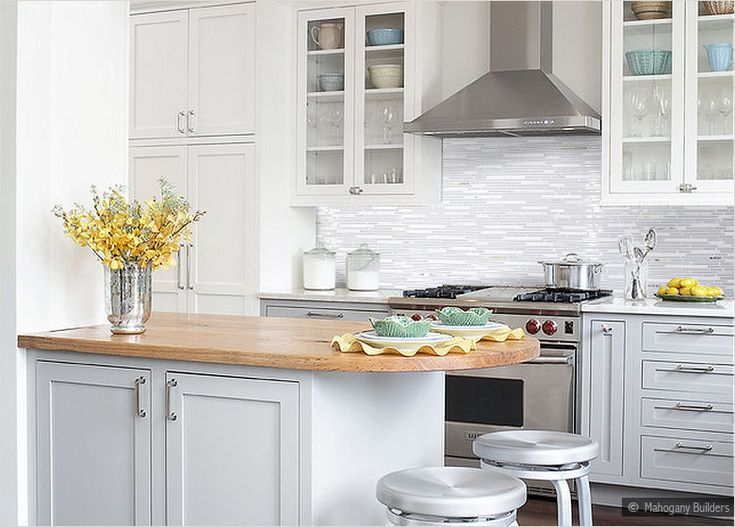 Tile Backsplash Marble Accents White Marble Glass Tiles Backsplash