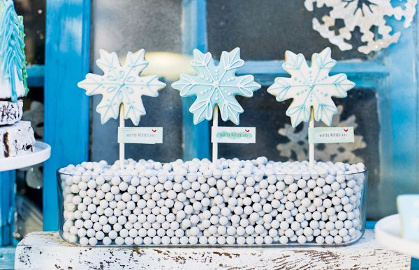 A Whimsical Winter Wonderland Party