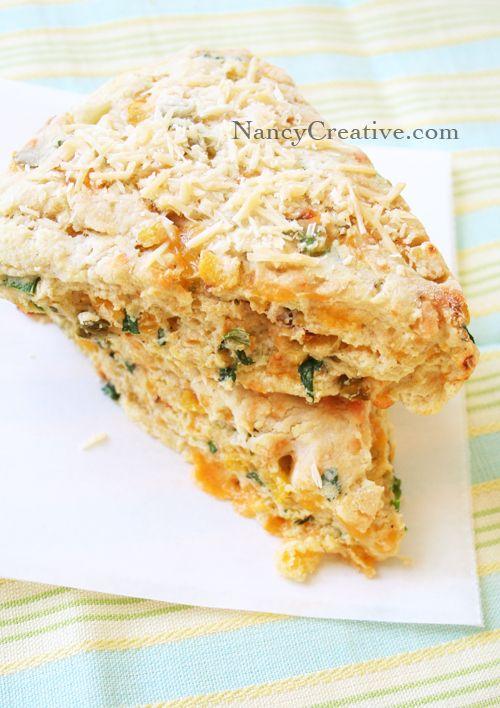 cheddar jalapeno scones | Recipe Box | Pinterest