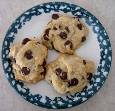 Super Easy Chocolate Chip Cookies Recipe | Valentine Dinner Recipes ...