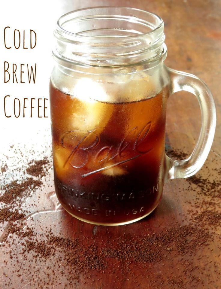 Easy Cold-Brewed Coffee Recipe — Dishmaps