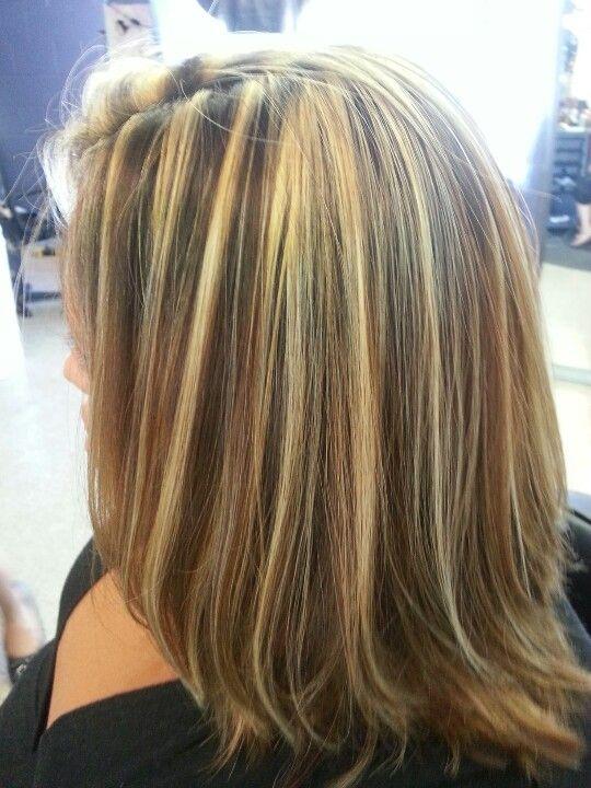 Blonde Foils Highlights
