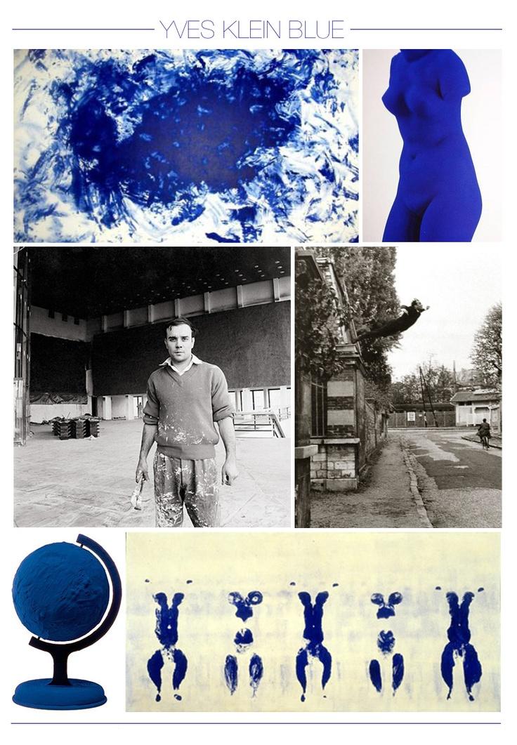 Yves Klein. Blue.