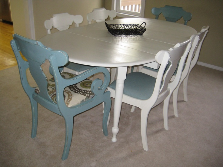 Dining Table Redo With Upholstery Our Furniture Projects Pinterest