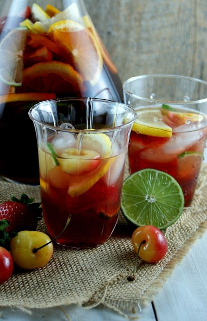 Classic Sangria | JUICES AND SMOOTHIES AND ICED TEAS | Pinterest
