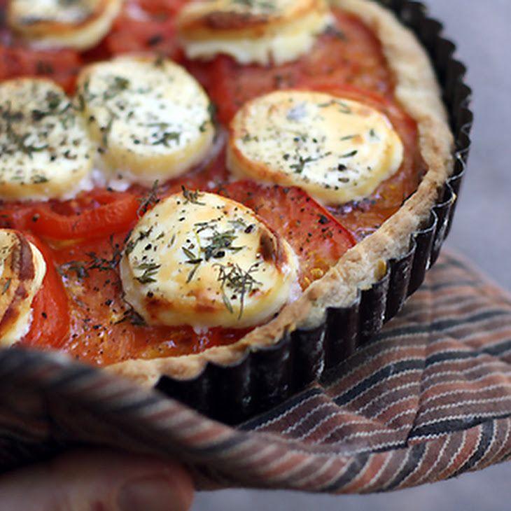 French Tomato Tart | mmmmm | Pinterest