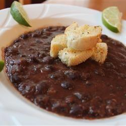 Black Bean and Salsa Soup Allrecipes.com