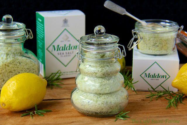 Lemon-Rosemary Sea Salt   Nom Nom Nom   Pinterest