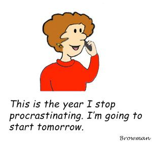 Thesis writing and procrastination