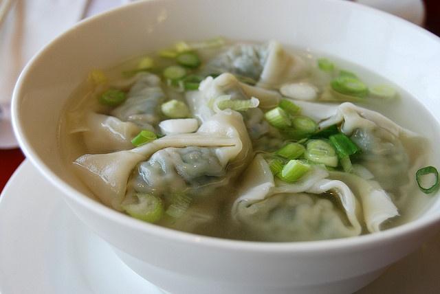 wonton chips wonton soup chinese fried wonton pork and spinach wonton ...