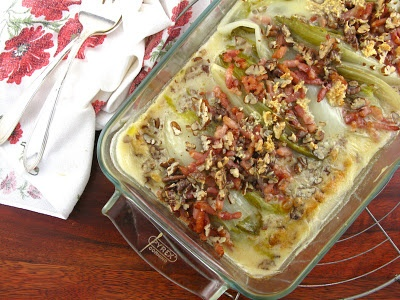 Endive, Lardons and Cancoillotte Gratin from @lifesafeast....may have ...
