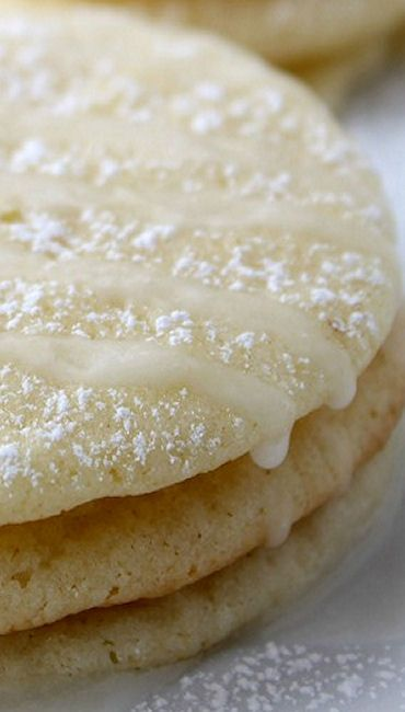 Lemon Glaze Lemon Cookies | Recipe