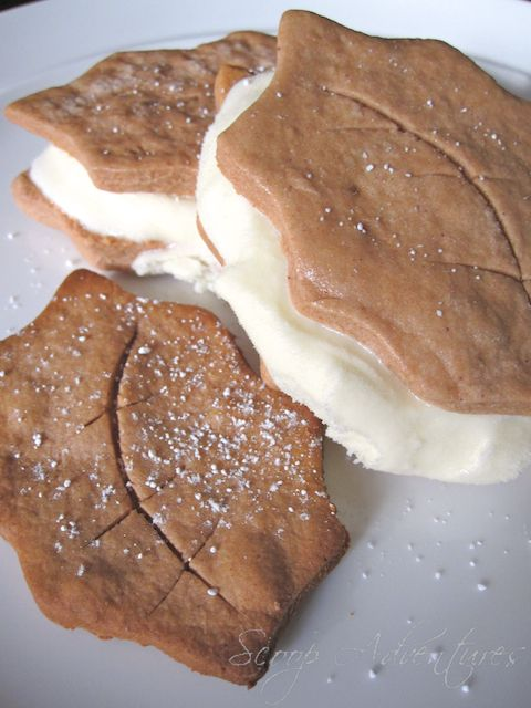 Amaretto Cannoli Cookie Sandwiches - Scoop Adventures - Scoop ...