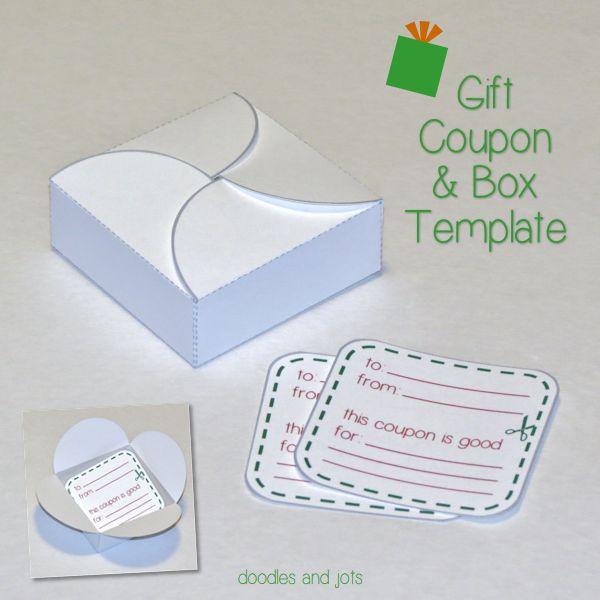 diy gift box template
