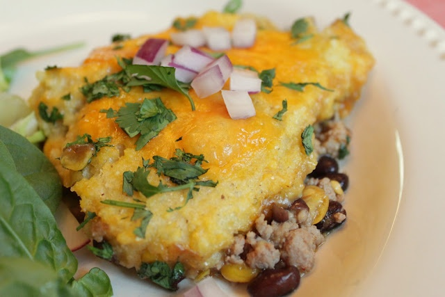 Tamale Pie with Turkey, Black Beans and Corn from Wholesome Dinner ...