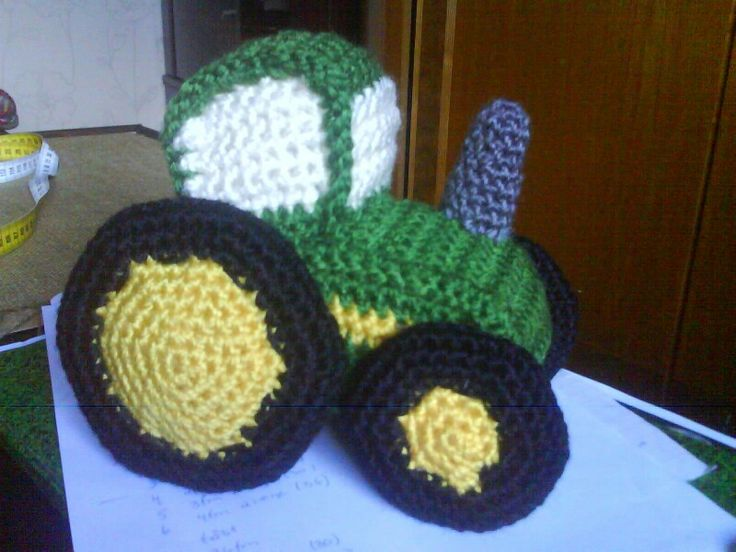 Crochet Pattern For John Deere Afghan : John deere crochet (C) The Little Outdoorsman Pinterest