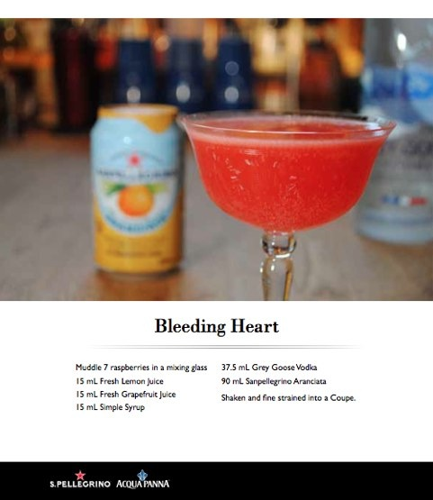 martini blow pop martini cocktails bleeding heart martini recipe