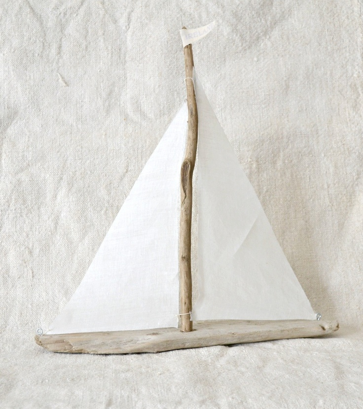 driftwood sailboats kiddo crafts pinterest