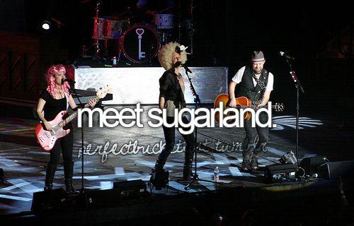 Meet Sugarland.