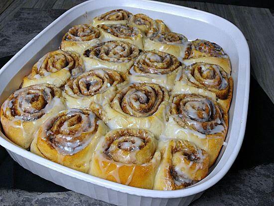 Cinnamon Rolls and Pizza dough | Graceful Recipes | Pinterest
