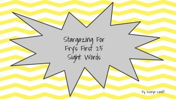Sight Words   uno  sight Fry's word   Pinterest printable Stargazing School