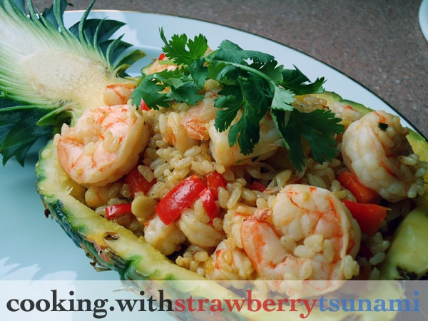 pineapple shrimp fried rice | I'm a Foodie!!! Recipes | Pinterest