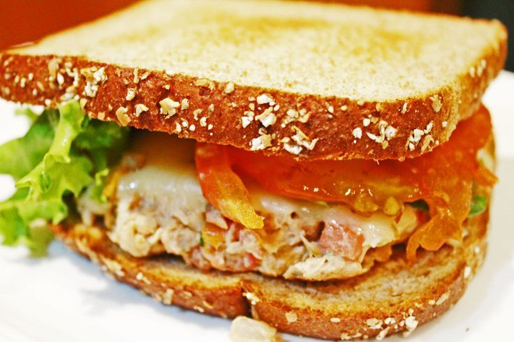 spicy tuna melt | Recipes for Clean Eating | Pinterest