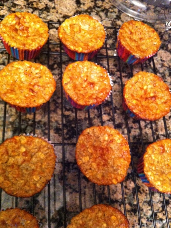 Banana Bread Protein Muffins | It's G double O D good... | Pinterest