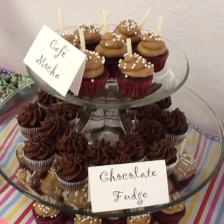 Cafe Mocha cupcakes. Replace the water in your chocolate cake recipe ...