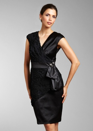 classic black evening dresses
