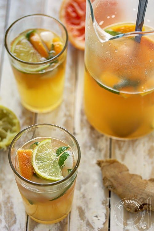 Juice of ginger and citrus | My work... | Pinterest