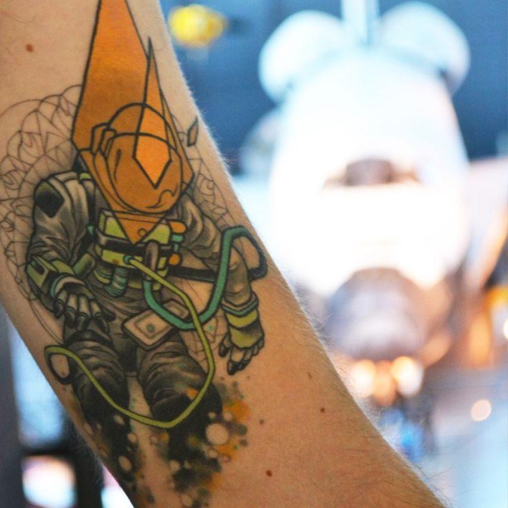 astronaut tattoo tumblr - photo #5