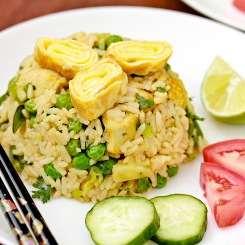 Classic Thai Fried Rice. | Food: Rice dishes and More | Pinterest