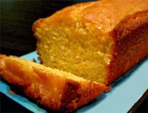Glazed Orange Pound Cake Recipe — Dishmaps