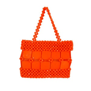60s Neon Orange Handbag, $120, now featured on Fab